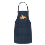 Fall Apron - navy