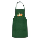 Fall Apron - forest green