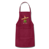 Joe's Fix It Apron - burgundy