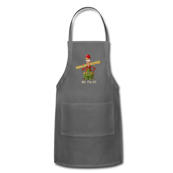 Joe's Fix It Apron - charcoal