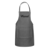 Homemade Breakfast Lunch Dinner Apron - charcoal