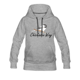 Chickadee Way Hoodie - heather gray