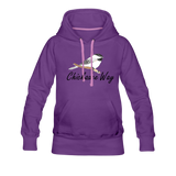 Chickadee Way Hoodie - purple