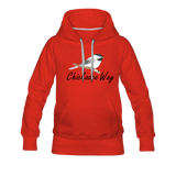 Chickadee Way Hoodie - red