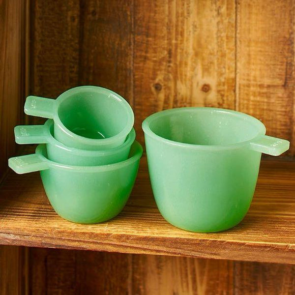 Glass Measuring Cups - Chickadee Way