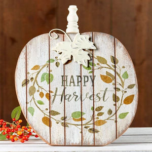 Happy Harvest Pumpkin