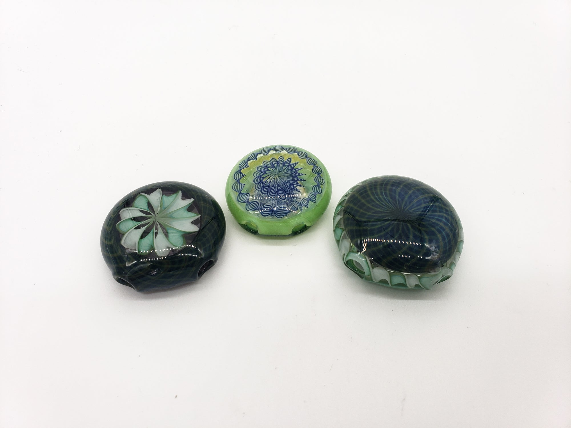 Robin Hood Glass Pendants Worked