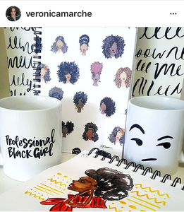 Professional Black Girl Mug