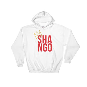CROWNED SHANGO - HOODED SWEATSHIRT
