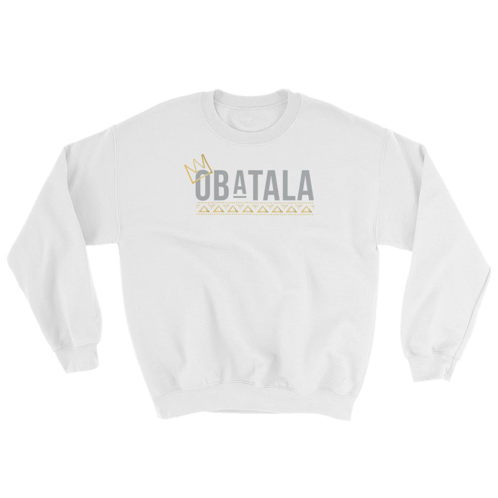 CROWNED OBATALA - SWEATSHIRT