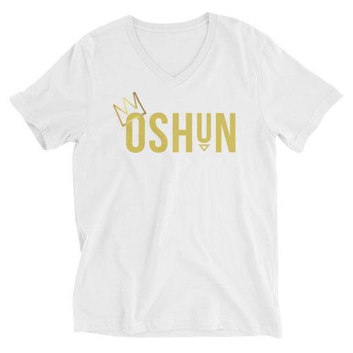 CROWNED OSHUN- UNISEX V-NECK