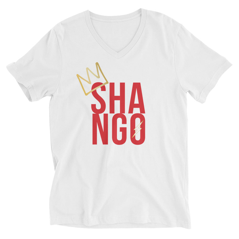 CROWNED SHANGO - UNISEX V-NECK