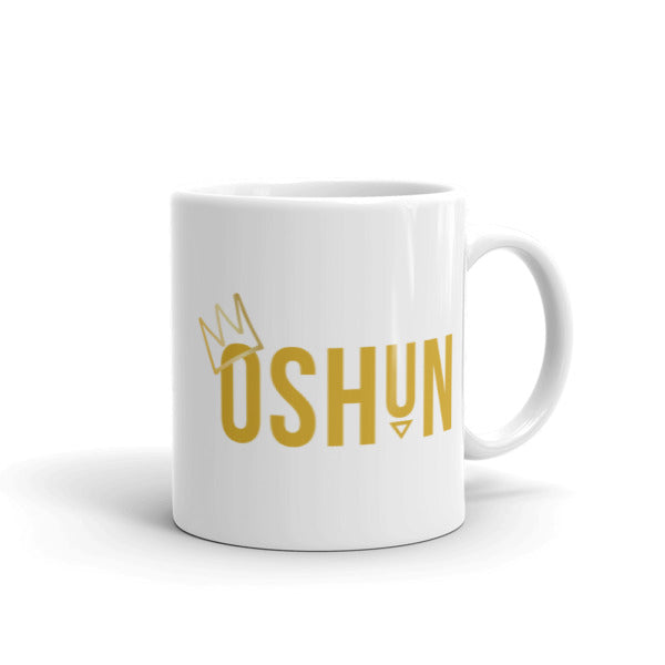 CROWNED OSHUN - COFFEE MUG
