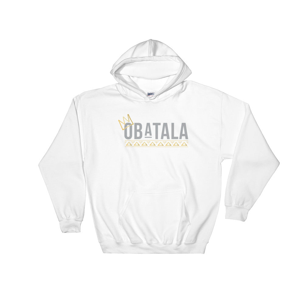 CROWNED OBATALA - HOODED SWEATSHIRT