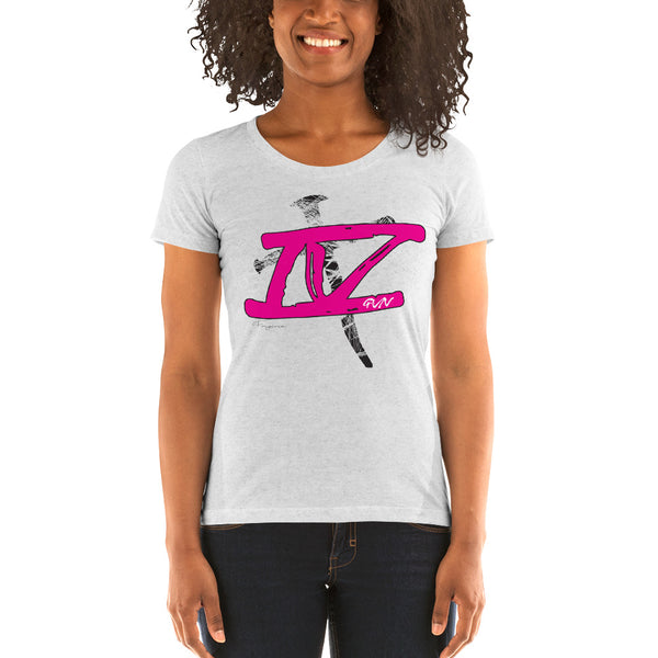 """IVGVN"" Ladies' short sleeve t-shirts"