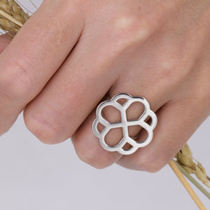 Rose Window Ring