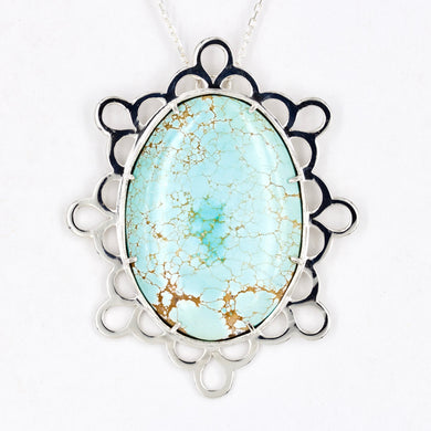 Robin's Egg Turquoise Statement Necklace