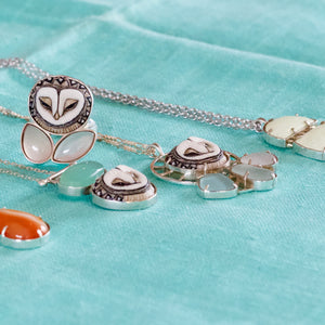 Owl Ring / Owl Necklace