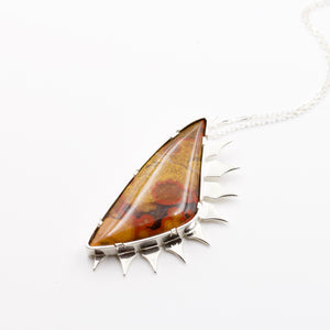 Morgan Hill Poppy Jasper Pendant