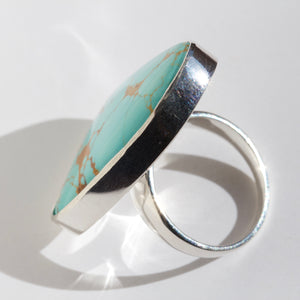 Number 8 Turquoise Ring