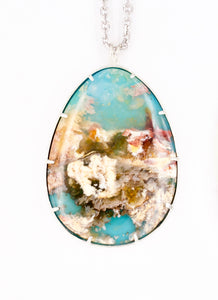 Coral Sea Pendant Pear