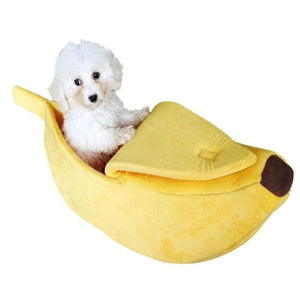 Funny Banana Dog Sleeping Bed
