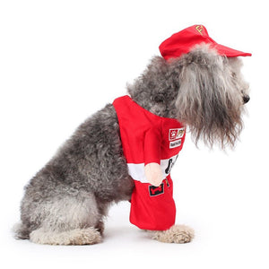 F1 Racer Dog Costume SirWoofWoof