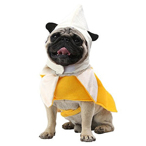 Banana Dog Costume
