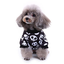 Load image into Gallery viewer, Funny Dog Skull Costume For Halloween SirWoofWoof