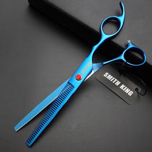 "Load image into Gallery viewer, 7"" Professional Stainless Steel Thinning Grooming Scissors"