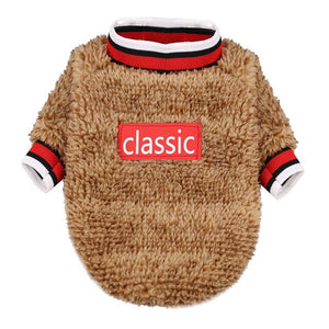 Classic Stylish Sweater For Small Dogs