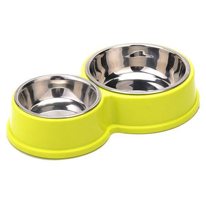 Premium Steel Double Bowl