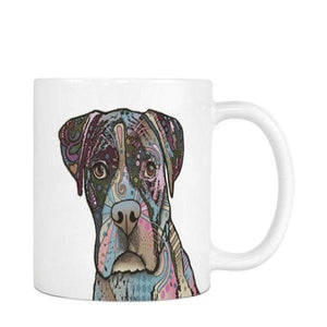 Graphic Dog Mug