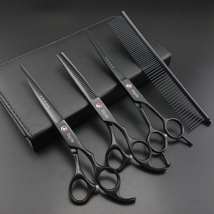 4 PCS Set -7 inch Professional Grooming Scissors