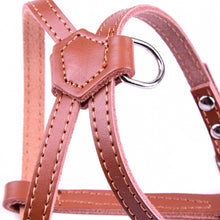 I-shaped Vegan Leather Halter