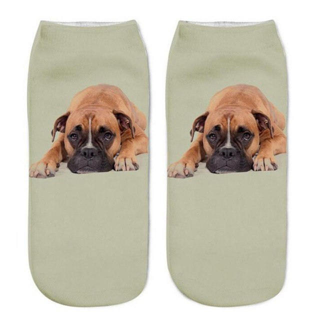 Lounging Boxer Socks