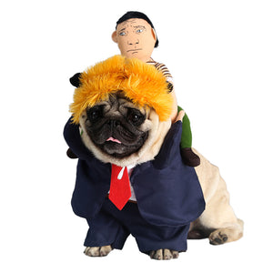 President Rodeo Dog Costume SirWoofWoof