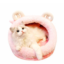 Load image into Gallery viewer, Funny Pink Cat Cave Sleeping Bed