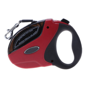 Round Grip Retractable Dog Leash