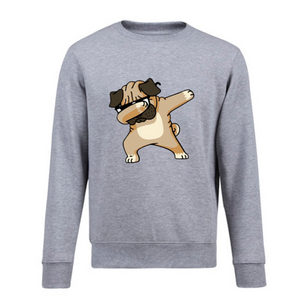 Dabbing Pug Sweater
