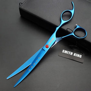 "4 PCS Set - 7"" Professional Stainless Steel Grooming Scissors"