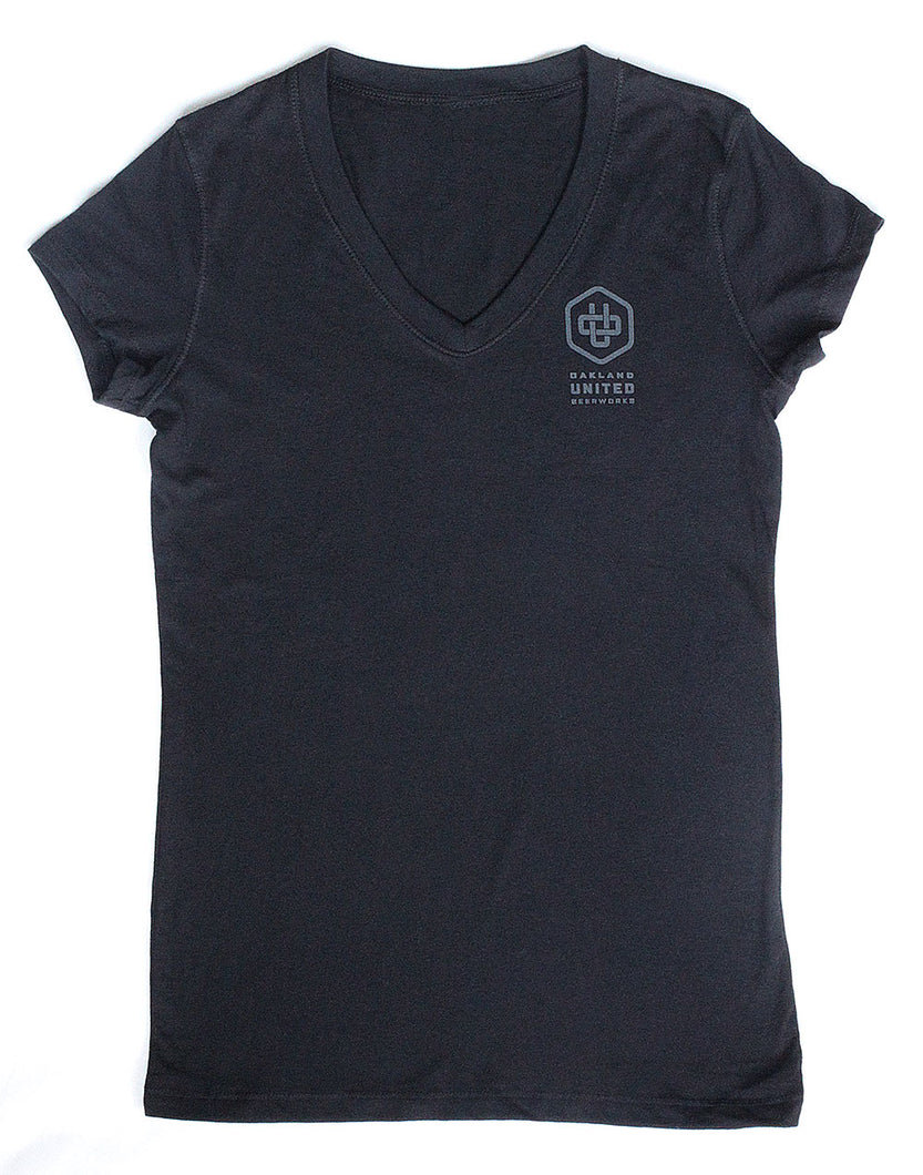Women's V-neck - OU Logo