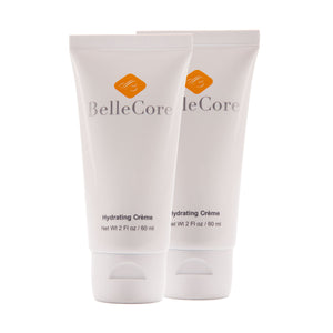 BelleCore Hydrating Cream two x 2 Fl.oz. tubes