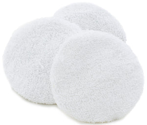 "Pack of 3 babyBelle® bodybuffer 4"" replacement bonnets. (Not for HoneyBelle®) On Back Order"