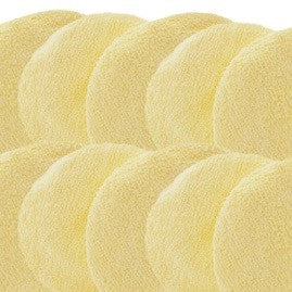 "Pack of 10 HoneyBelle® bodybuffer 6"" replacement bonnets/optional pad liners. (Not For babyBelle®)"