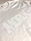 3D MORUK. WHITE WOMAN - White T-Shirt