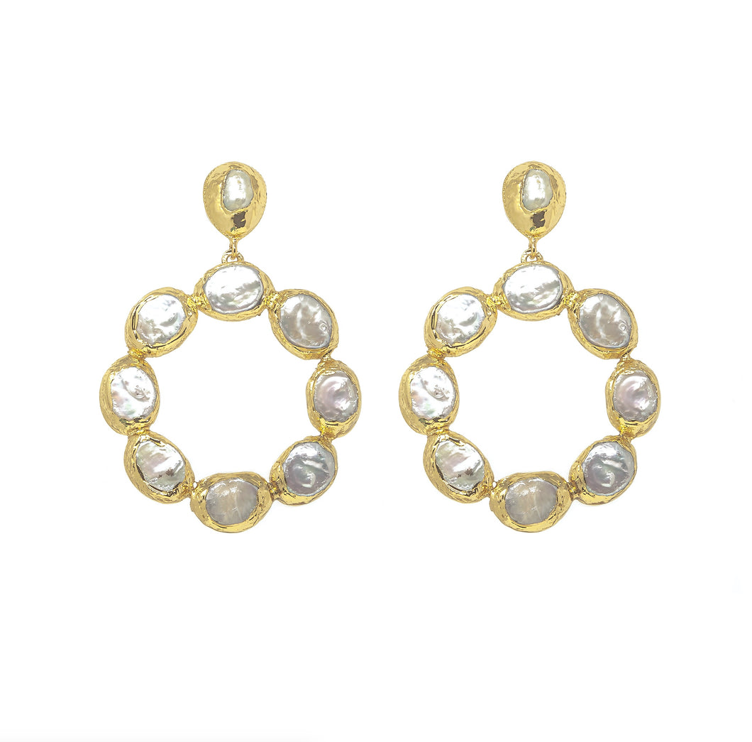 Wanda Hoop Earrings