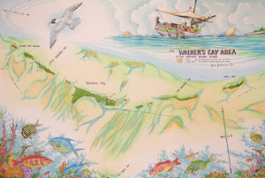 Map of Walkers Cay