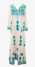 Elysia Dress Turquoise