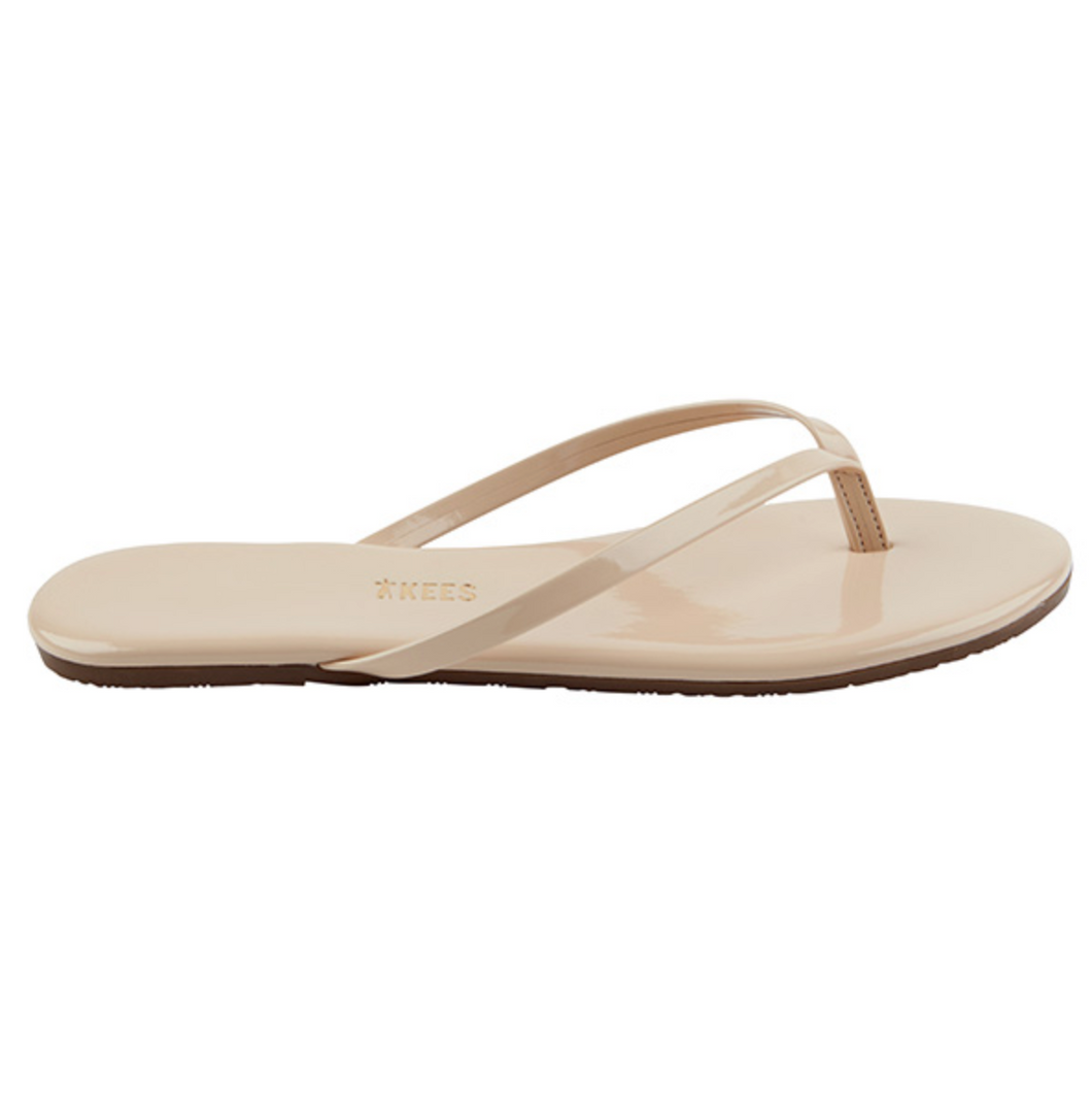 Tkees Foundations Gloss Flip Flop in Seashell